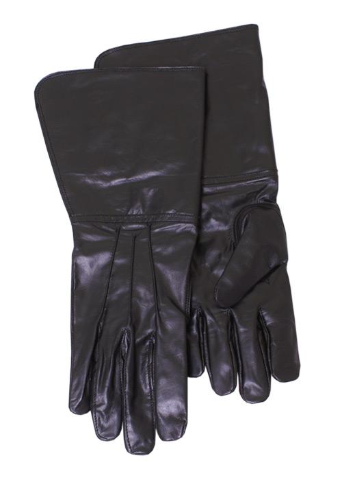 Fechthandschuhe schwarz