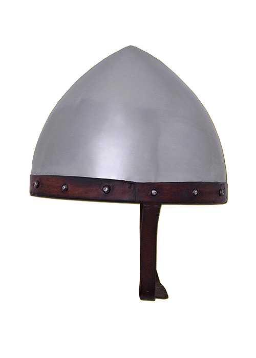 Bild Nr. 2 Helm der Bogenschützen Stahl mit Lederinlet