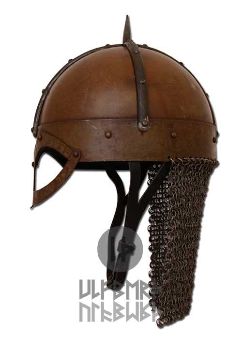 Bild Nr. 3 Gjermundbu Helm mit vernieteter Brünne Stahl