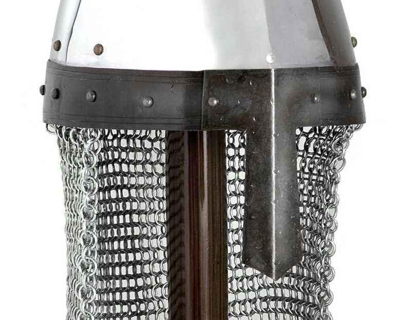 Bild Nr. 2 Normannischer Helm mit Brünne