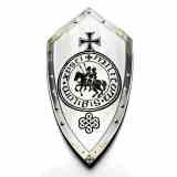Schilde Ritterschild mit Templer-Siegel