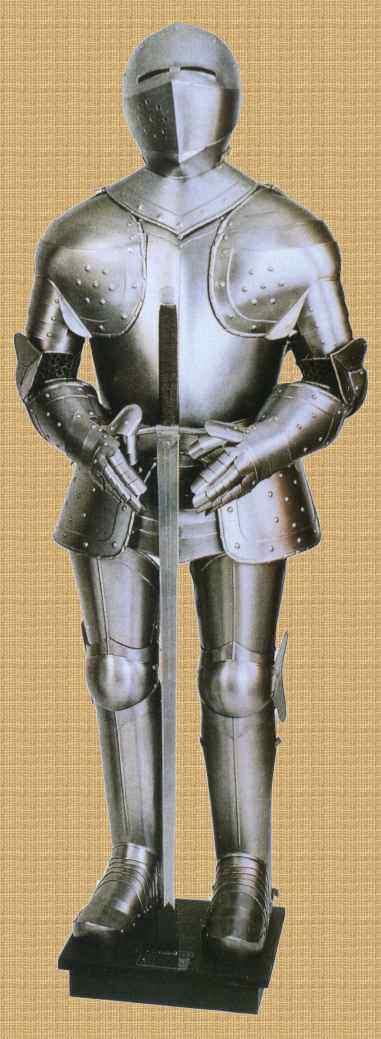 Bild Nr. 2 Ritterrüstung 15. Jh