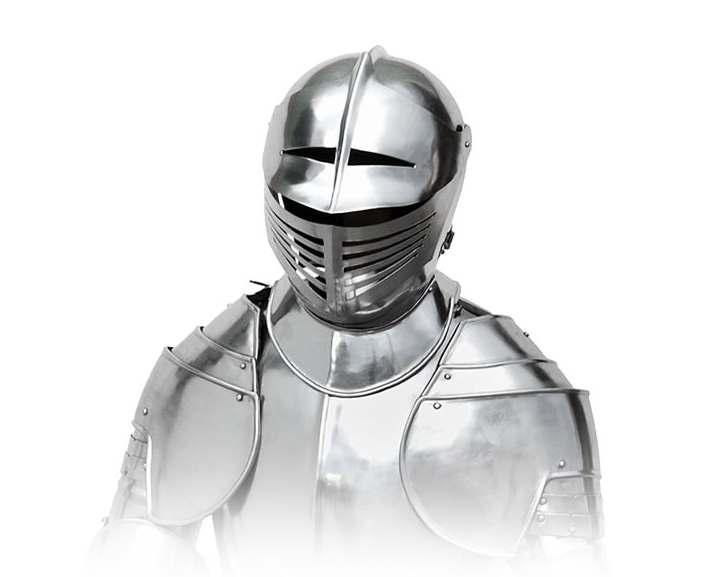 Bild Nr. 3 Ritterrüstung mit Schwert und Ständer