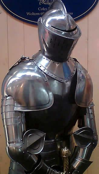 Bild Nr. 2 Voll Ritterrüstung Herzog von Burgund
