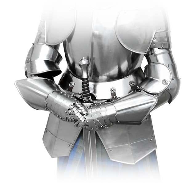 Bild Nr. 6 Ritterrüstung mit Schwert und Ständer