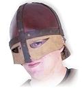 Helme Normannen Lederhelm