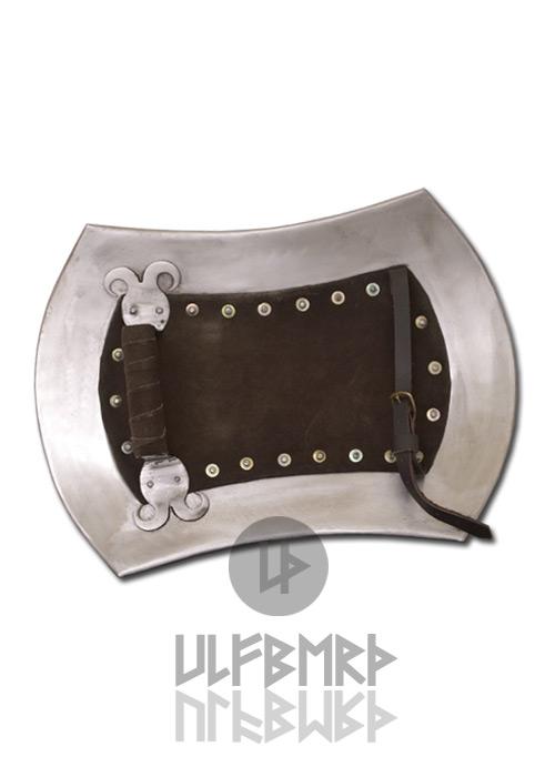 Bild Nr. 2 Rechteckiger Buckler 2mm Stahl