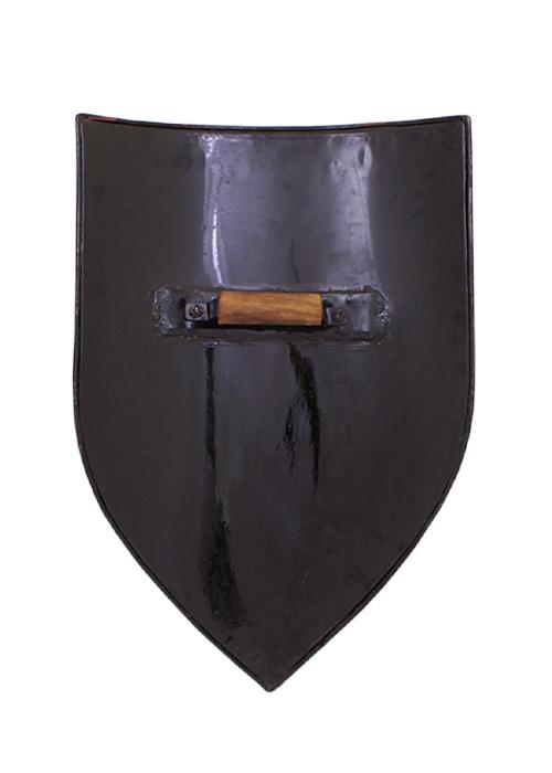 Bild Nr. 2 Wappenschild aus Stahl, Rohling zum Selbstbemalen