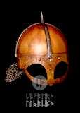 Helme Gjermundbu Helm mit vernieteter Brünne Stahl