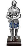 Ritterruestungen Ritterrüstung mit Schwert und Ständer