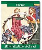 Mittelalter Schmuck Shop Glatter Armreif mit 22 Karat Vergoldung