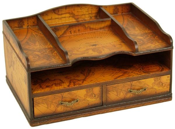 Marco Polo Schreibtisch-Organisierer Abb. Nr. 1