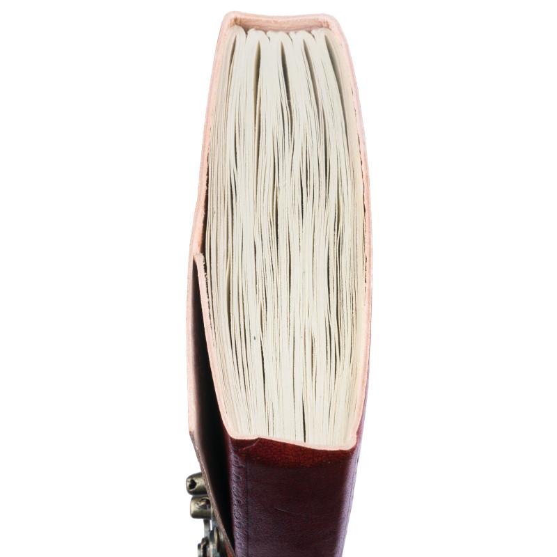Bild Nr. 3 Notizbuch Handgemacht Ledereinband Drachen