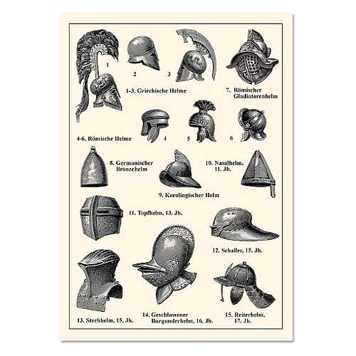 Bild Nr. 2 Karten Set Mittelalter Info II