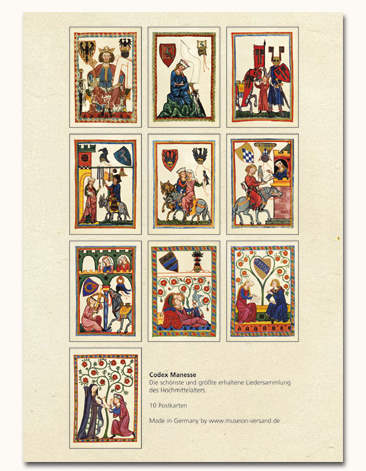 Bild Nr. 2 Codex Manesse