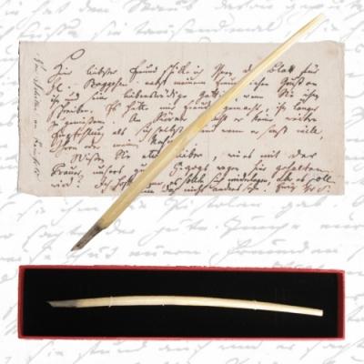 Schillers letzte Schreibfeder