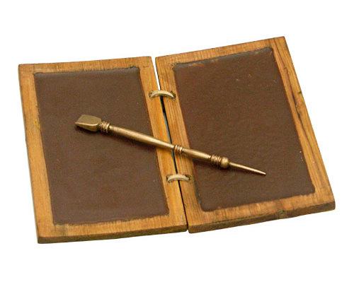 Römische Schreibtafel Diptychon