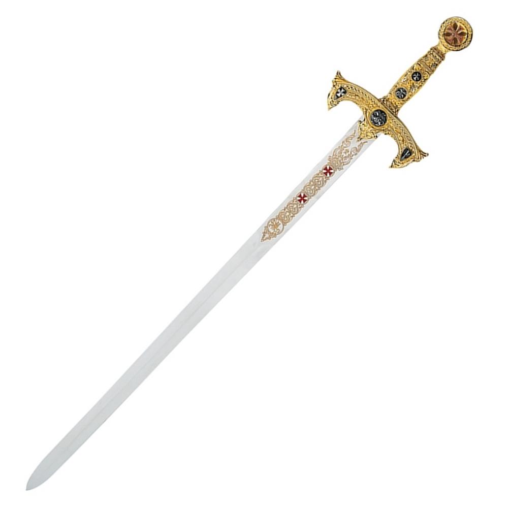 Schwert der Tempelritter Gold Abb. Nr. 2