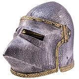Spielzeug Helm Hundsgugel LARP Kinder Helm