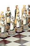 Schachspiele Schachspiel Ritterorden