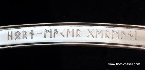 Bild Nr. 3 FUTHARK Runen Gravur