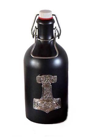 Tonflasche Met Thorshammer 8cm