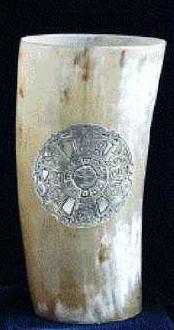 Hornbecher / Prachtbecher 15 cm