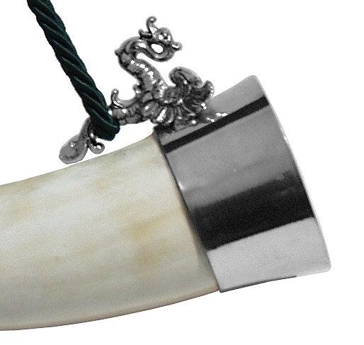 Bild Nr. 2 Rufhorn mit Mundstück Drache